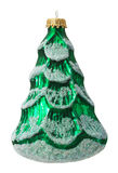 Christmas tree ball isolated on the white background Royalty Free Stock Photo