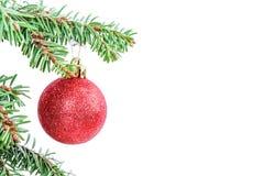 Christmas tree ball Royalty Free Stock Images