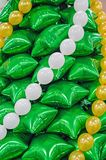 Christmas tree of balloons Stock Photos