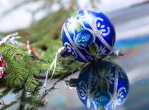 Christmas-tree balls. Royalty Free Stock Photo