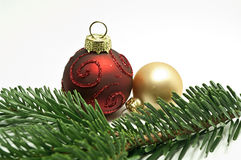 Christmas tree balls Royalty Free Stock Photography