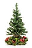 Christmas tree with balls Stock Photos