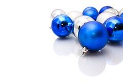 Christmas tree balls  Stock Images