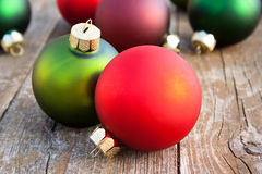 Christmas tree balls Royalty Free Stock Images