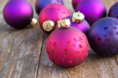 Christmas tree balls Stock Photos
