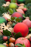 Christmas tree balls Royalty Free Stock Image