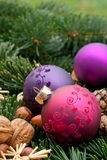 Christmas tree balls Stock Photography