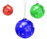 Christmas tree balls. Stock Photography