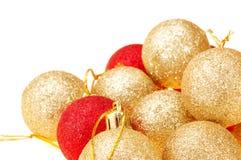 Christmas Tree Balls Stock Photography