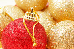 Christmas tree balls Stock Image