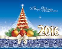 Christmas Tree 2016 Stock Photography