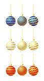 Christmas tree balls Stock Photo