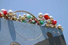 Christmas Tree Balls & Wheel Royalty Free Stock Photography