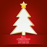 Christmas Tree Banner Royalty Free Stock Image