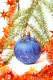Christmas tree bauble Stock Images