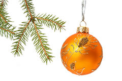 Christmas tree bauble Royalty Free Stock Photos