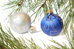 Christmas tree bauble Royalty Free Stock Photo