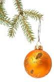 Christmas tree bauble Stock Photo