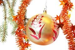 Christmas tree bauble Stock Photos