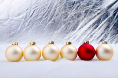 Christmas tree bauble Stock Photography