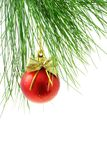 Christmas tree bauble Royalty Free Stock Image