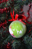 Christmas tree bauble Royalty Free Stock Photo