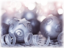 Christmas tree bauble ornament and decoration Stock Images
