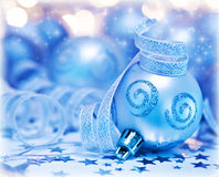 Christmas tree bauble ornament and decoration Stock Image