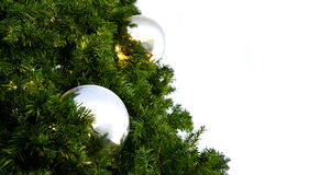 Christmas Tree Baubles Royalty Free Stock Photo