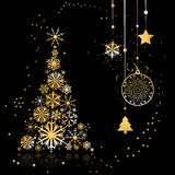 Christmas tree beautiful Royalty Free Stock Photo