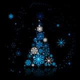 Christmas tree beautiful Royalty Free Stock Photography