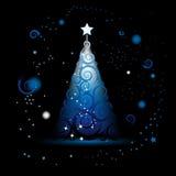 Christmas tree beautiful Stock Photography