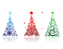 Christmas tree beautiful for your design Royalty Free Stock Images