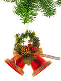 Christmas Tree Bells. Christmas decoration Stock Image