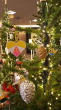 Christmas tree. At black friday Stock Photo