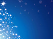 Christmas tree blue Royalty Free Stock Images