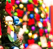Christmas Tree bokeh Stock Image