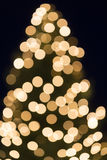Christmas tree bokeh shot as background Stock Photos