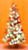 Christmas tree bokeh Royalty Free Stock Images