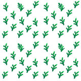 Christmas tree brunches seamless pattern Royalty Free Stock Images