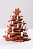 Christmas tree cake Royalty Free Stock Images
