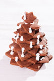 Christmas tree cake Royalty Free Stock Photo