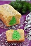 Christmas Tree Cake Royalty Free Stock Photo