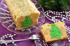 Christmas Tree Cake Royalty Free Stock Image