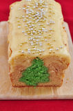 Christmas Tree Cake Royalty Free Stock Photography