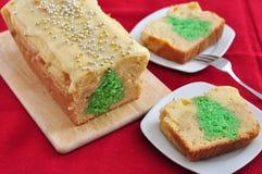 Christmas Tree Cake Royalty Free Stock Photos