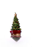Christmas tree candle Stock Image