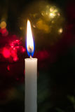 Christmas tree candle Royalty Free Stock Photo