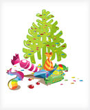 Christmas tree candy candy Royalty Free Stock Photos