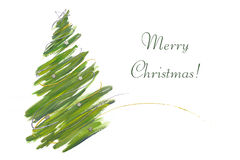 Free Christmas Tree Card Stock Photos - 11479173